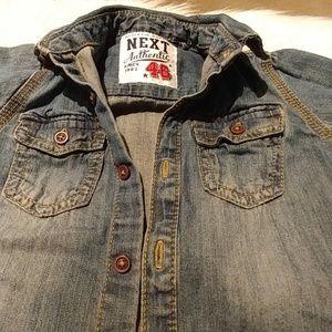Other - Denim Button Down Shirt